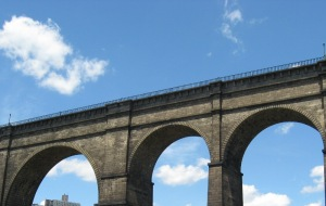 High Bridge over Harlem River, NYC